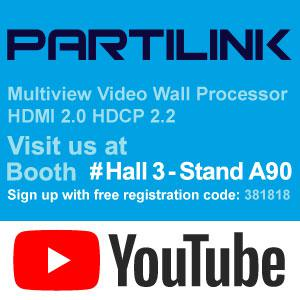 TRY THE MULTIVIEW VIDEO WALL PROCESSOR AT ISE 2019 AMSTERDAM
