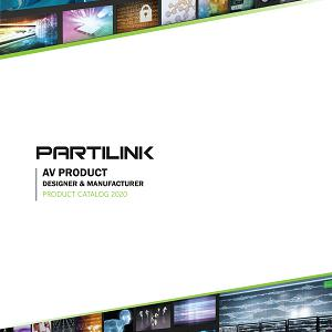 PARTILINK Inc. Pro-AV & Video Capture Catalog 2020